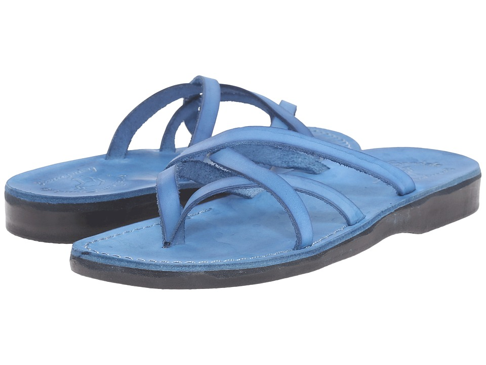 Jerusalem Sandals Tamar Womens Blue Womens Shoes