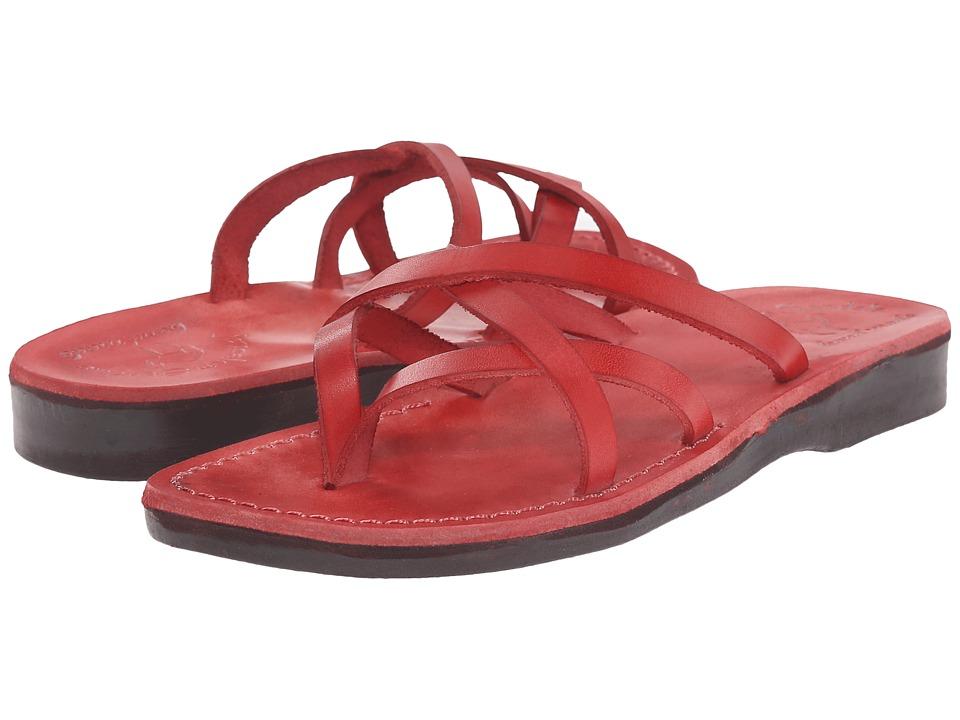 Jerusalem Sandals Tamar Womens Red Womens Shoes