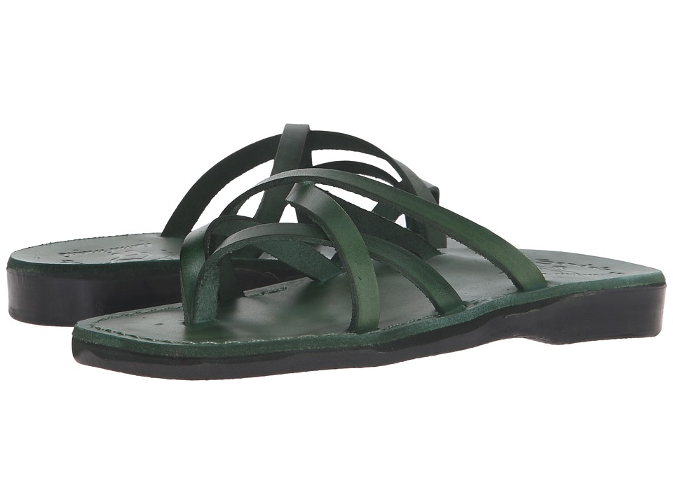 Jerusalem Sandals Tamar Womens Green Womens Shoes