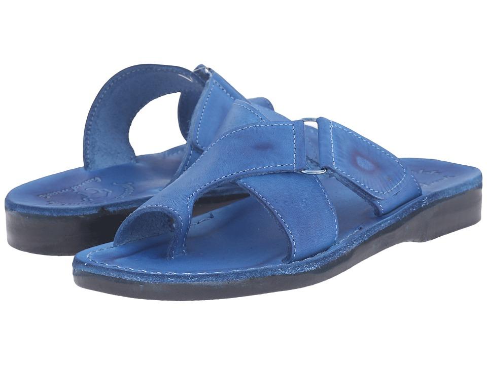 Jerusalem Sandals Asher Blue Womens Shoes