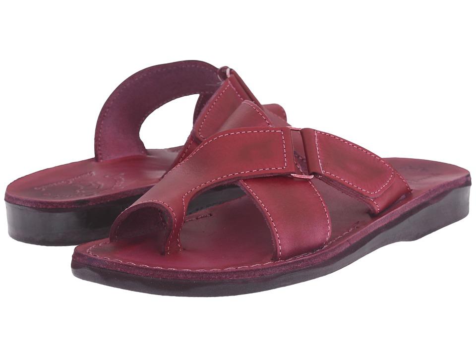 Jerusalem Sandals Asher Violet Womens Shoes