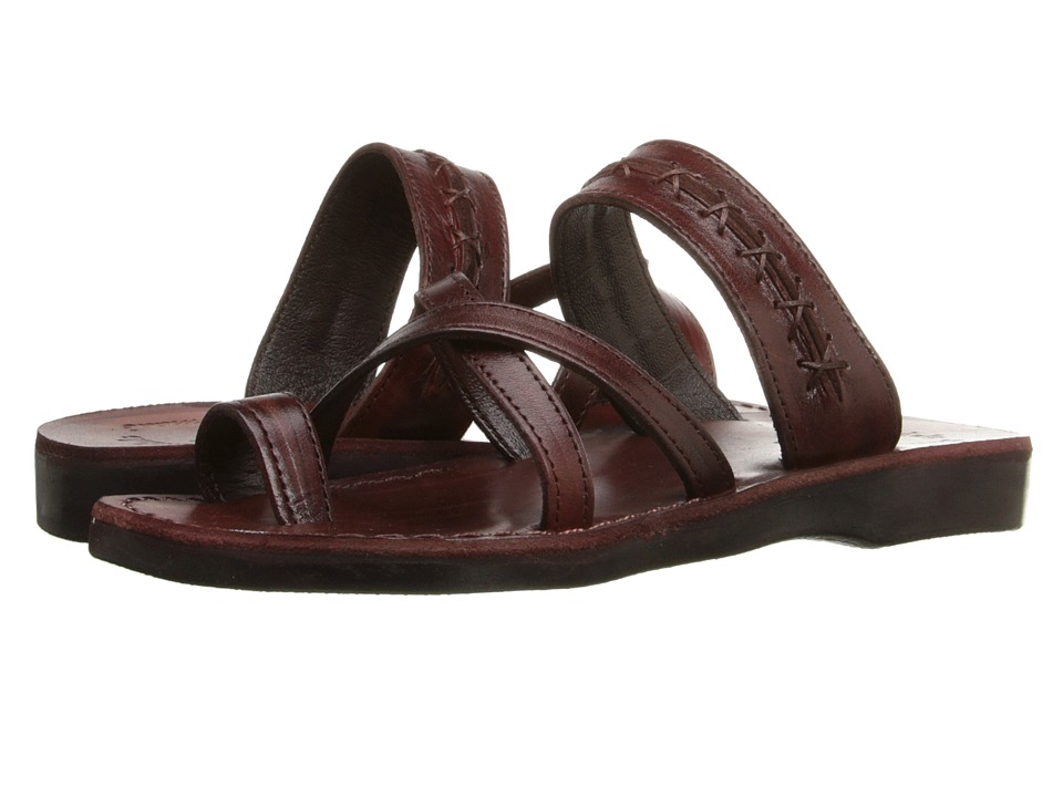 Jerusalem Sandals - Rachel (Brown) Womens Shoes