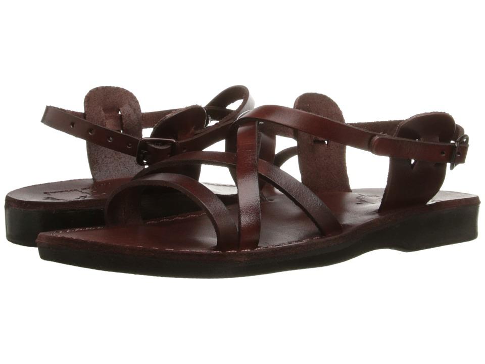 Jerusalem Sandals Tzippora Womens Brown Womens Shoes