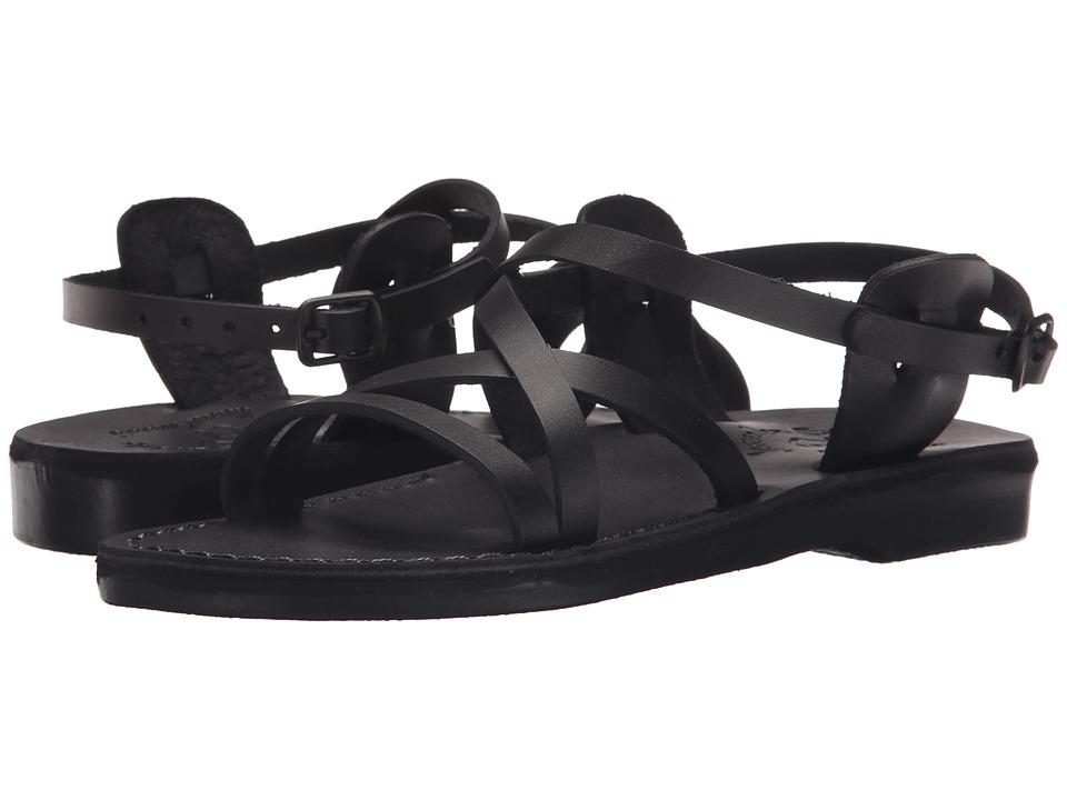 Jerusalem Sandals Tzippora Womens Black Womens Shoes