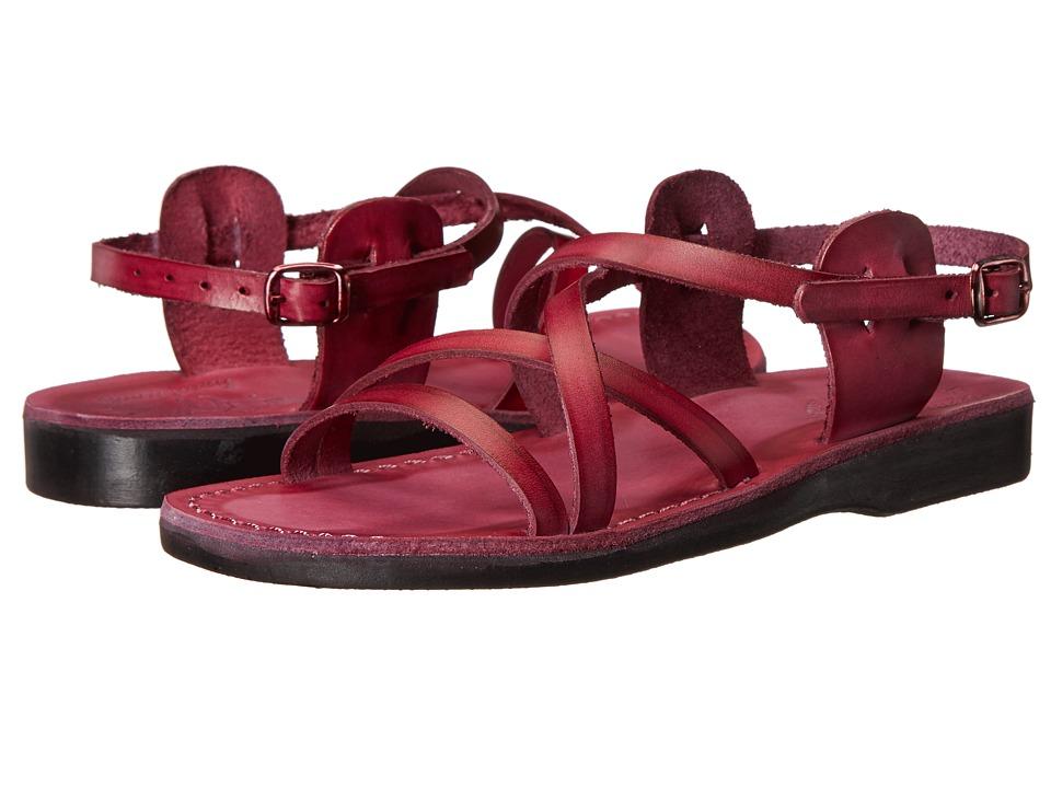 Jerusalem Sandals Tzippora Womens Violet Womens Shoes