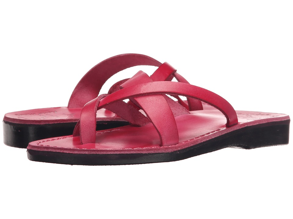 Jerusalem Sandals Abigail Womens Pink Womens Wedge Shoes
