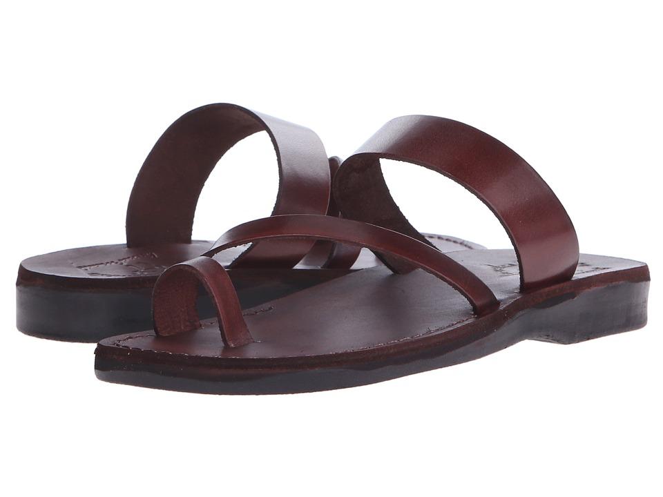 Jerusalem Sandals Zohar Womens Brown Womens Shoes