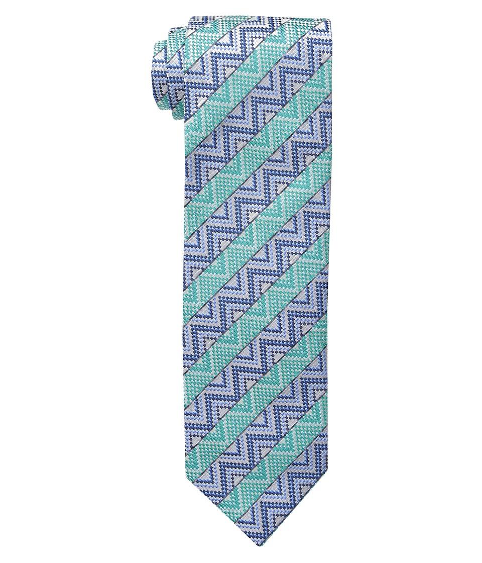 Missoni CRB8SEU5306 Green/Blue Ties