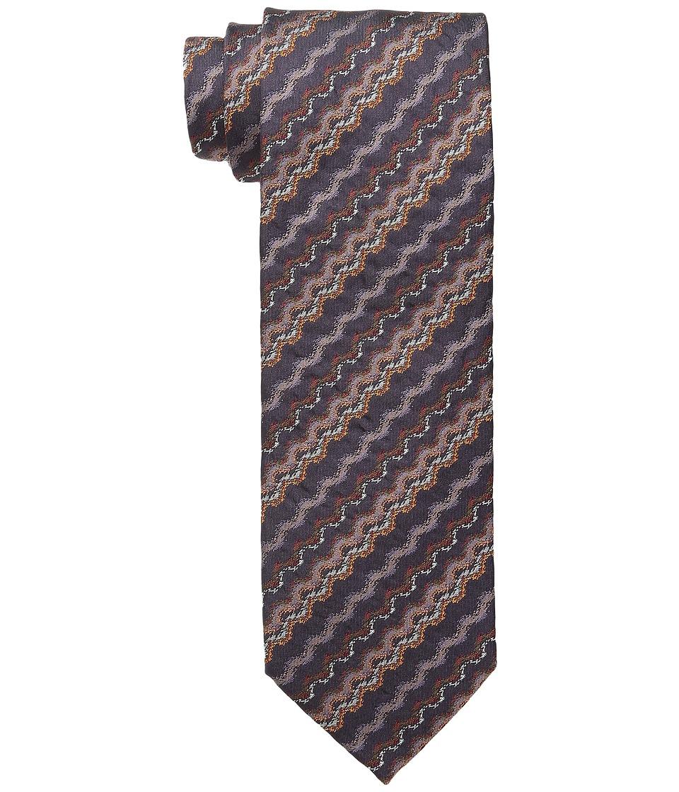 Missoni CRB8SEU5302 Brown/Orange Ties