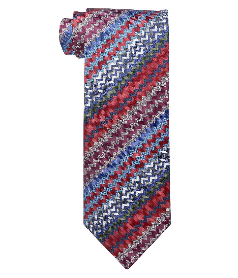 Missoni CRB8SEU5311 Red/Blue Ties