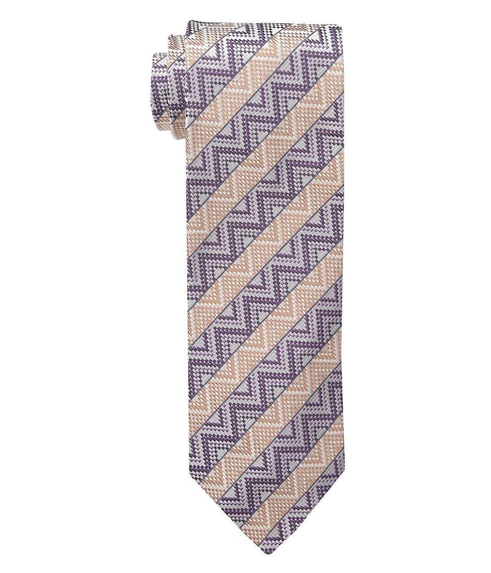 Missoni CRB8SEU5306 Grey/Purple Ties