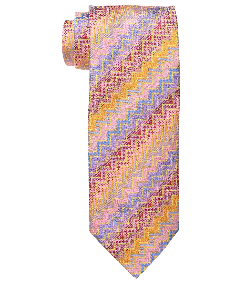 Missoni CRB8SEU5283 Orange/Blue Ties