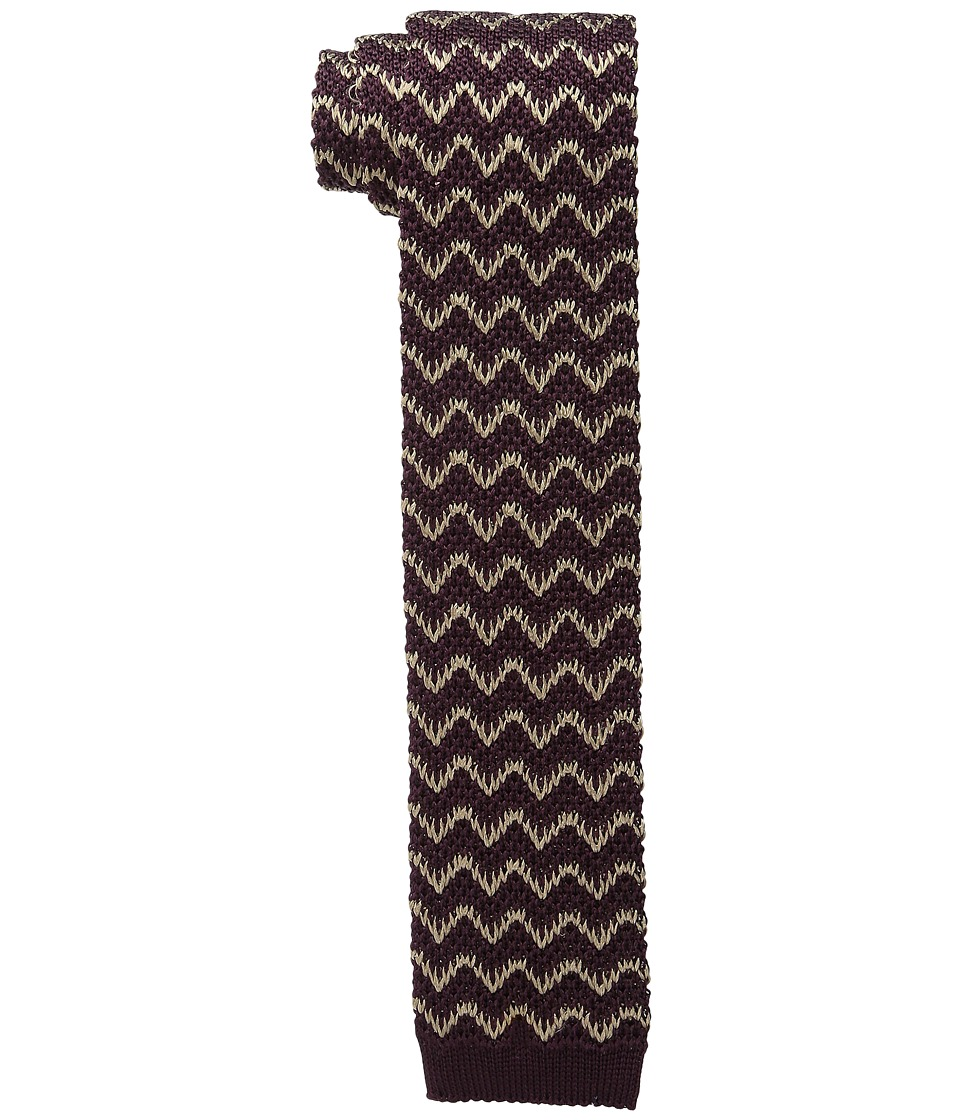 Missoni CR2TSEU5344 Burgundy Ties