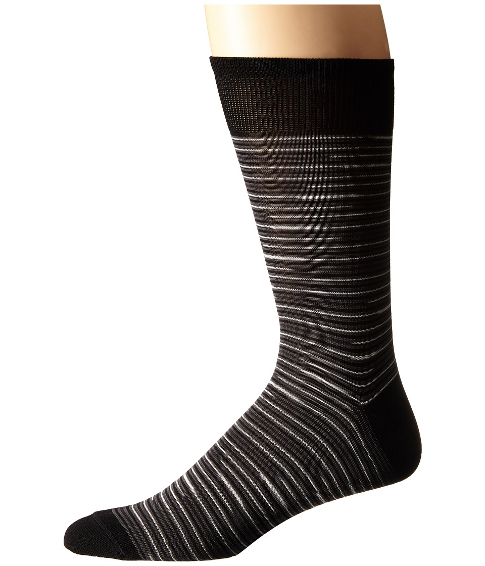 Missoni CA00CMU5442 Black Mens Crew Cut Socks Shoes