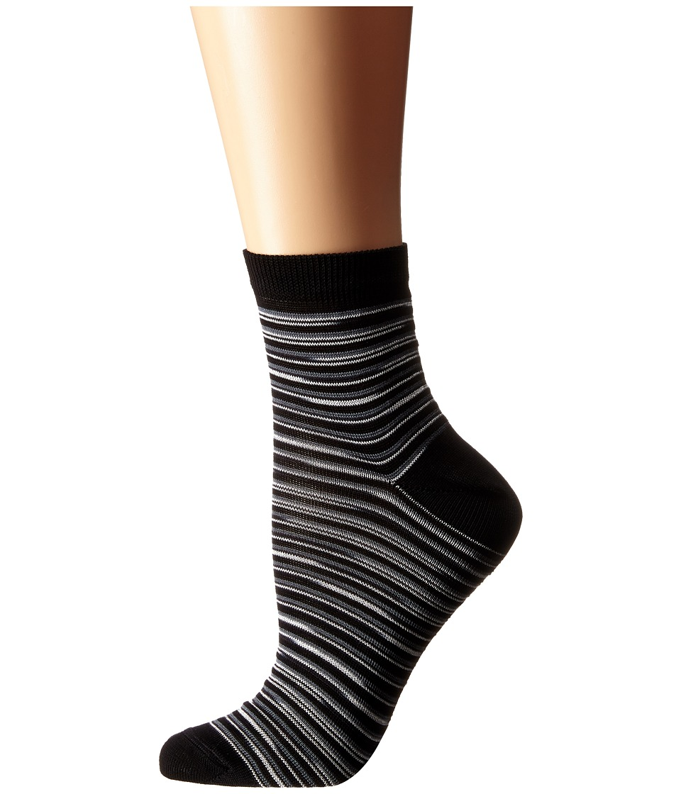 Missoni CA00CMD5450 Black Womens Crew Cut Socks Shoes