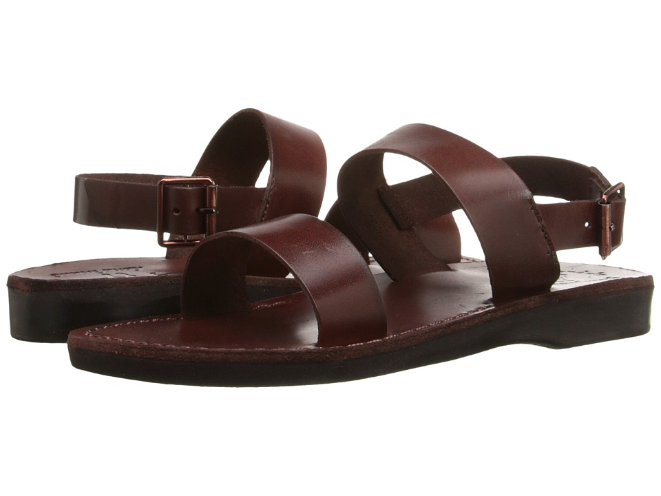 Jerusalem Sandals Golan Womens Brown Womens Shoes