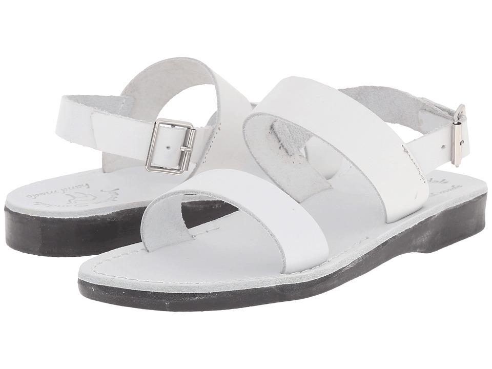 Jerusalem Sandals Golan Womens White Womens Shoes