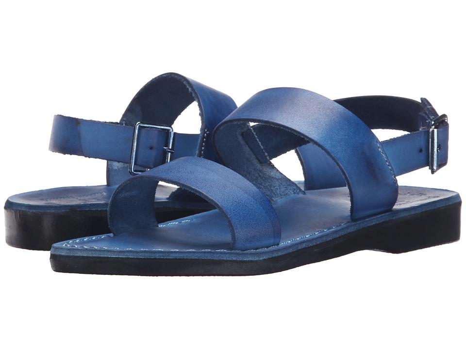 Jerusalem Sandals Golan Womens Blue Womens Shoes
