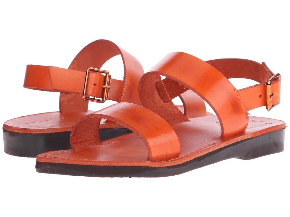Jerusalem Sandals Golan Womens Orange Womens Shoes