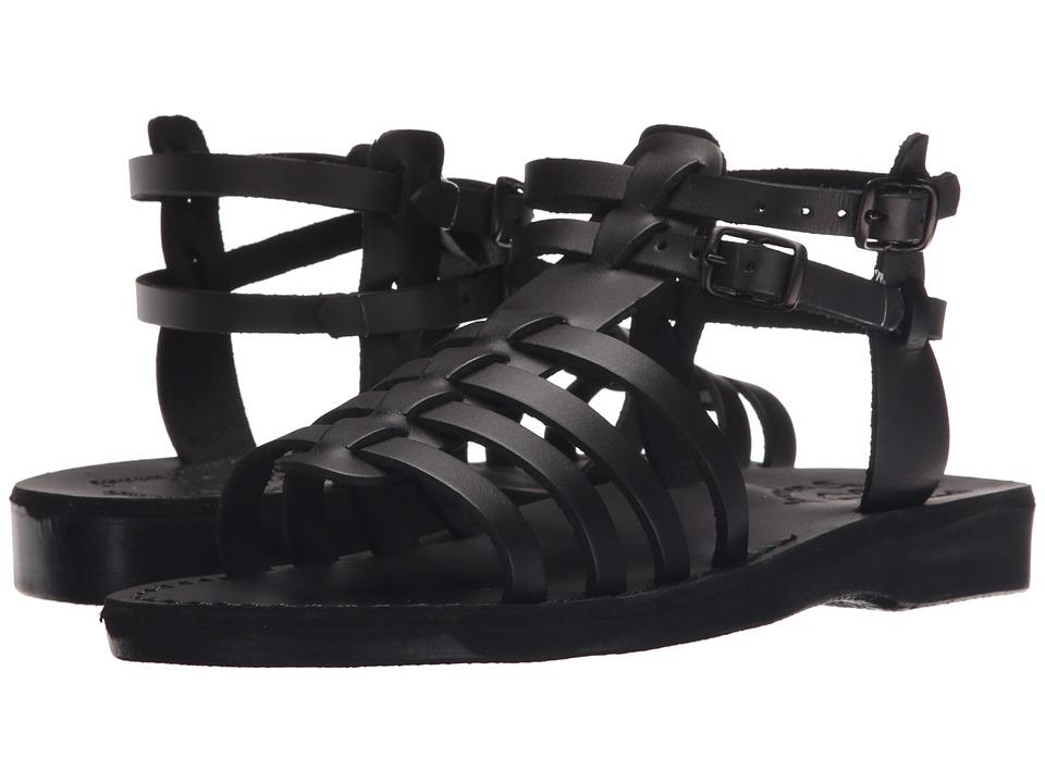 Jerusalem Sandals Leah Womens Black Womens Shoes