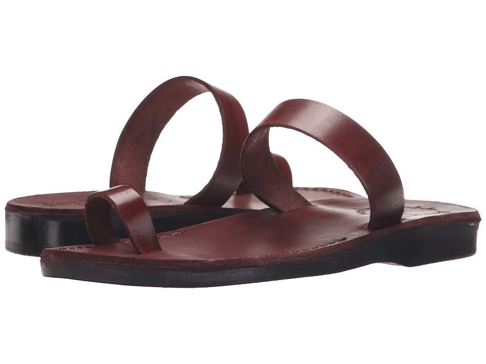 Jerusalem Sandals - Eden - Womens (Brown) Womens Shoes