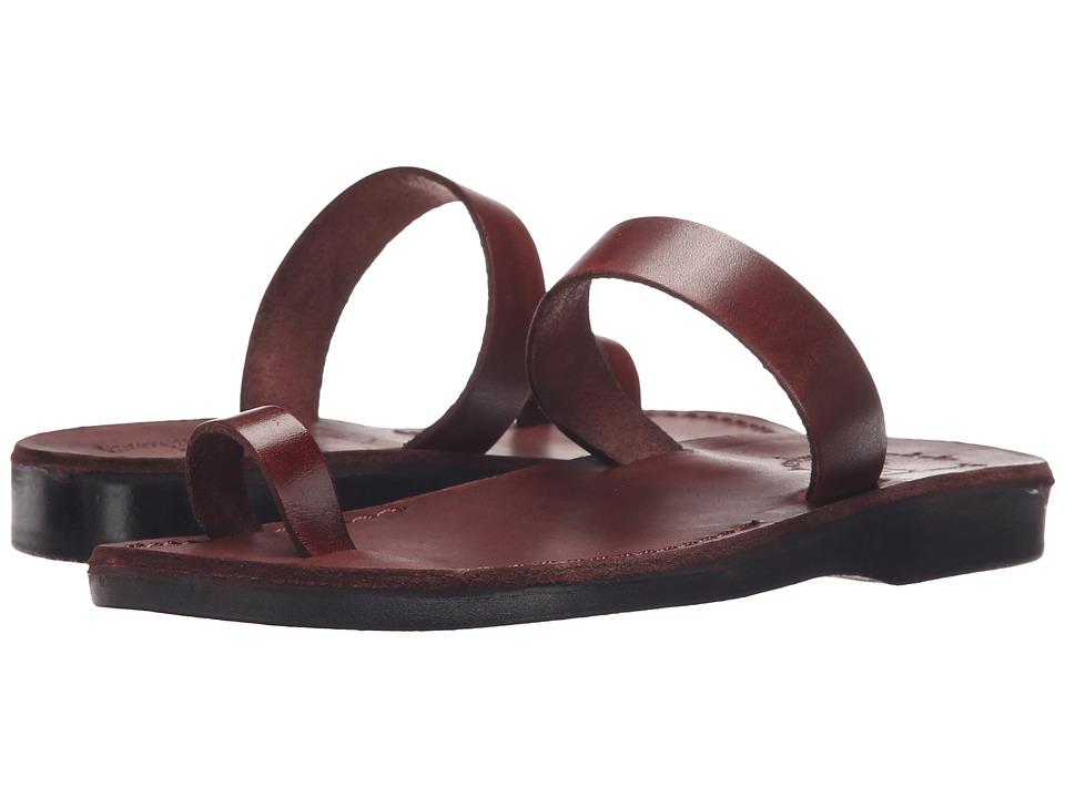 Jerusalem Sandals Eden Womens Brown Womens Shoes