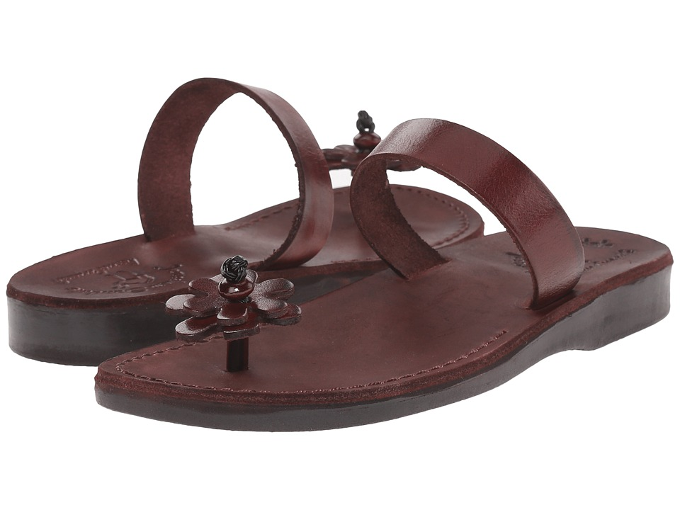 Jerusalem Sandals Esther Womens Brown Womens Shoes