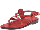 Jerusalem Sandals - Tamar Buckle - Womens (Red)