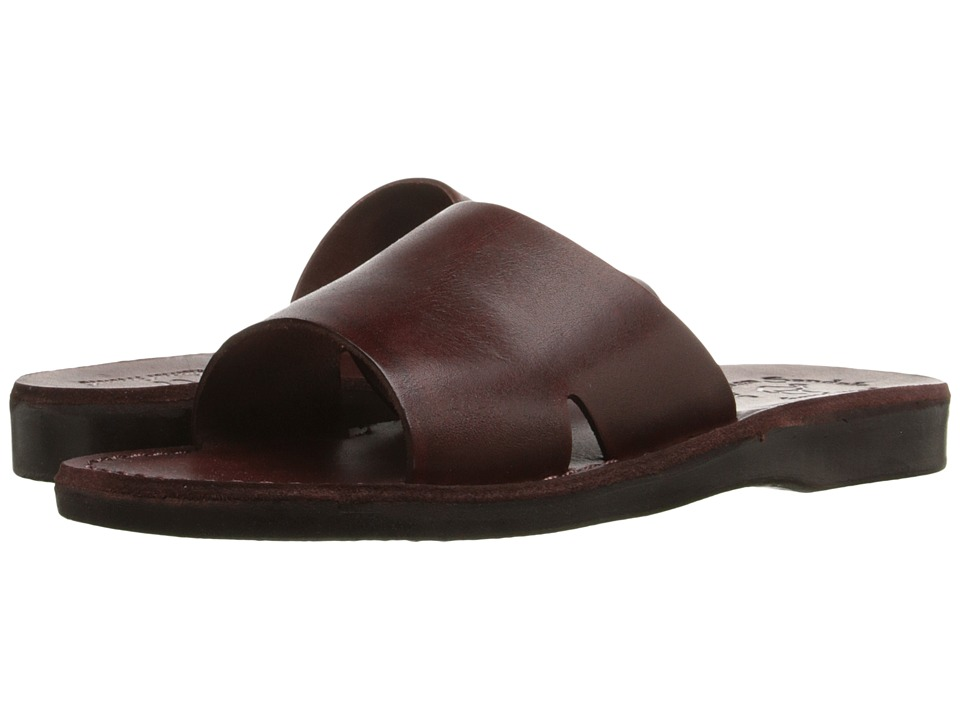Jerusalem Sandals Bashan Womens Brown Womens Shoes