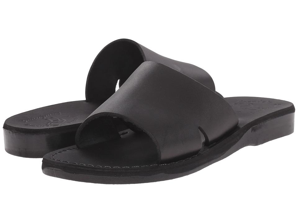 Jerusalem Sandals Bashan Womens Black Womens Shoes