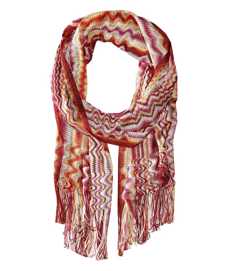 Missoni SC29VID5389 Pink/Orange Scarves