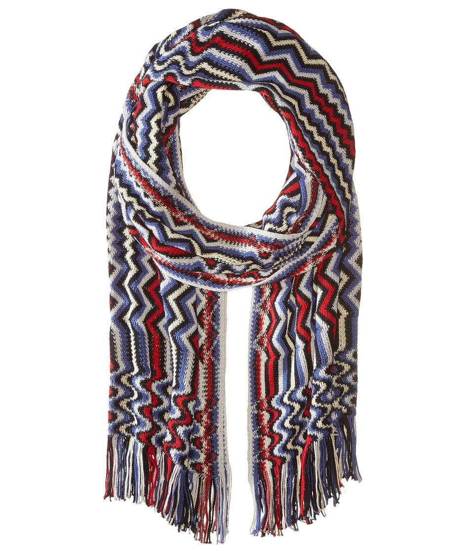 Missoni SC18CMU5429 Red/Blue Scarves