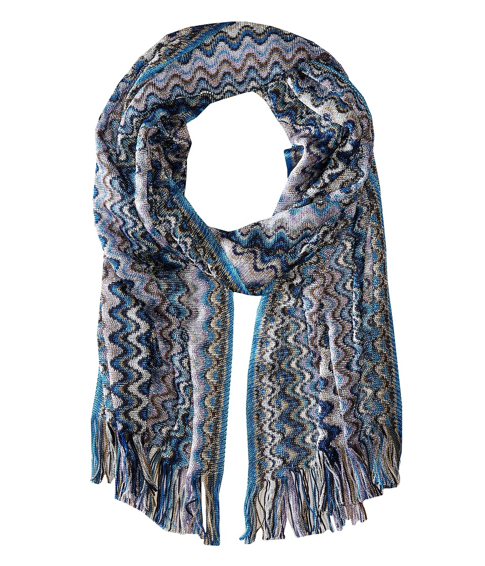 Missoni SC36VMD5338 Blue Scarves