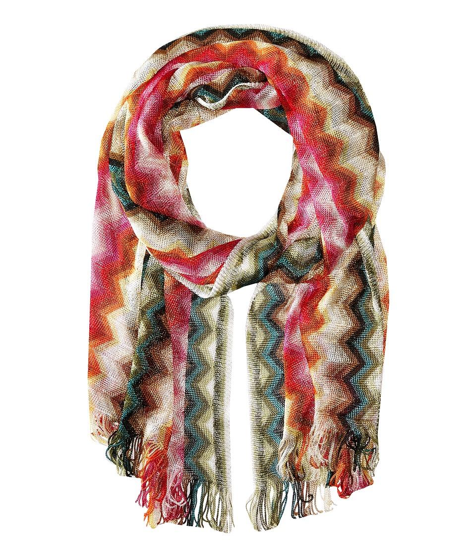 Missoni SA57VID5477 Pink/Orange Scarves