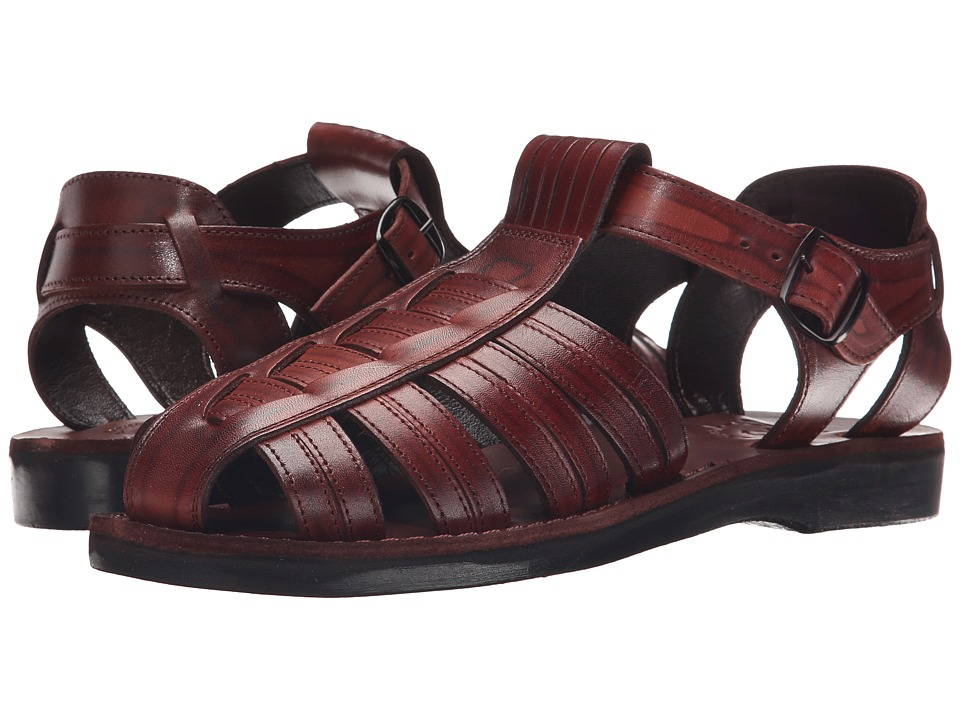 Jerusalem Sandals - Barak - Mens (Brown) Mens Shoes