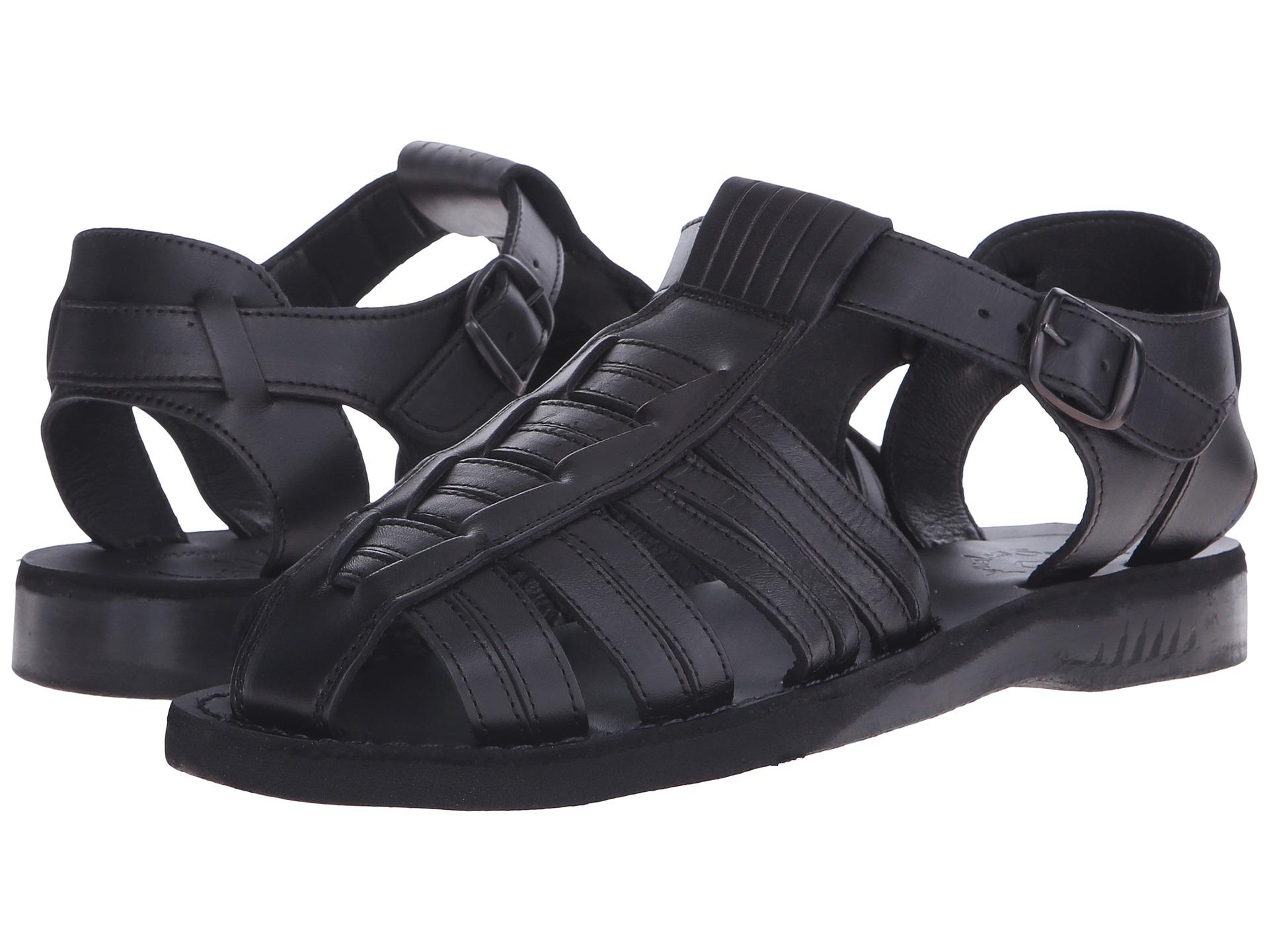 Sandals in black - View More Like This Jerusalem Sandals Barak Mens