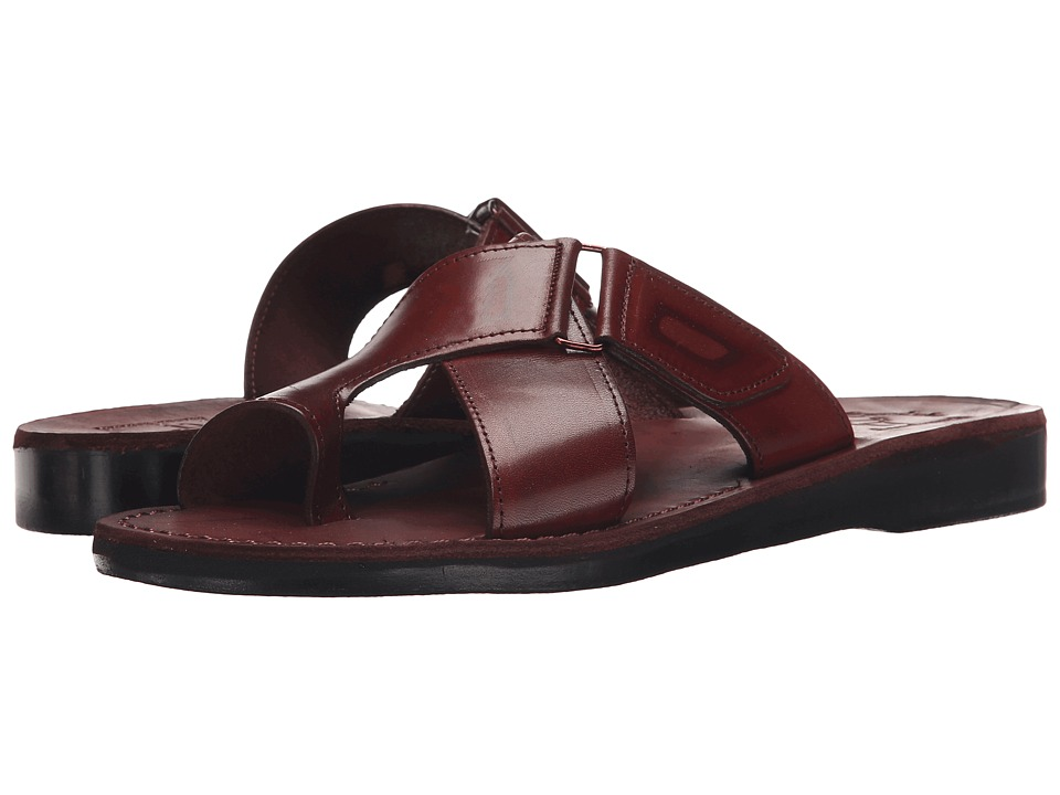 Jerusalem Sandals - Asher - Mens (Brown) Mens Shoes