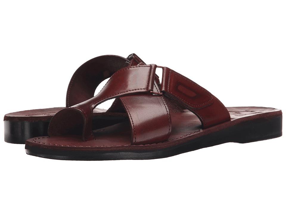 Jerusalem Sandals Asher Mens Brown Mens Shoes