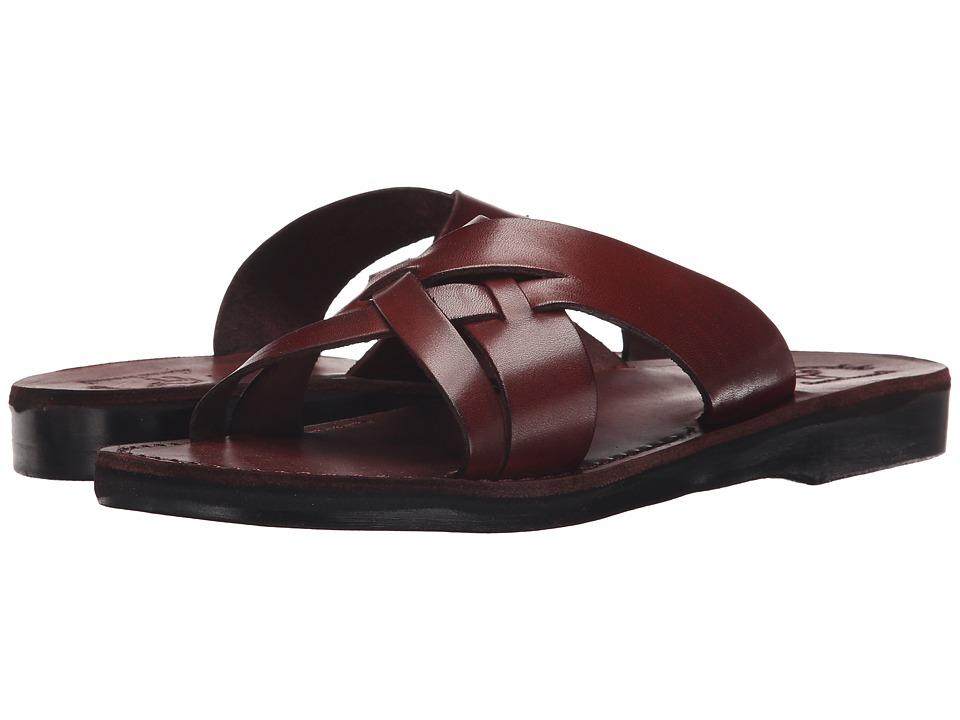 Jerusalem Sandals Jesse Mens Brown Mens Shoes