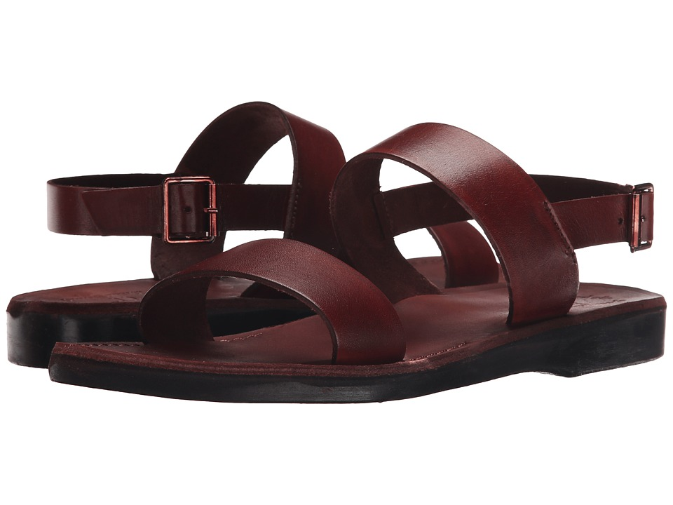 Jerusalem Sandals - Golan - Mens (Brown) Mens Shoes