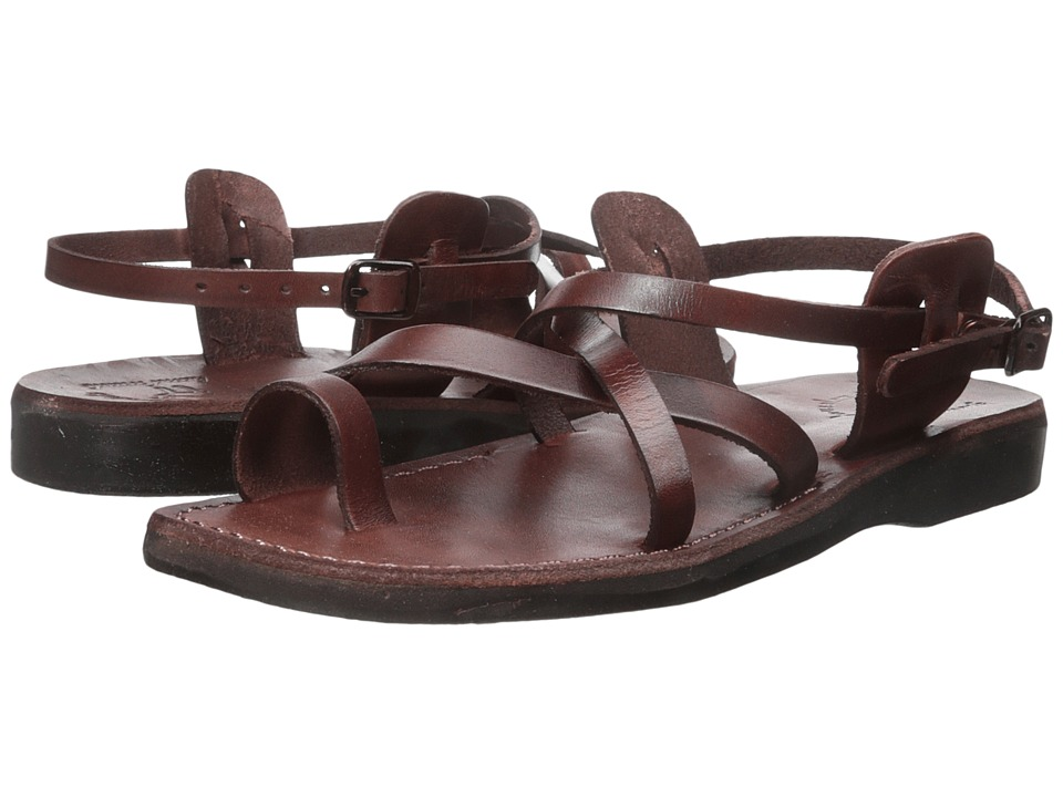 Jerusalem Sandals - The Good Shepherd Buckle - Mens (Brown) Mens Shoes