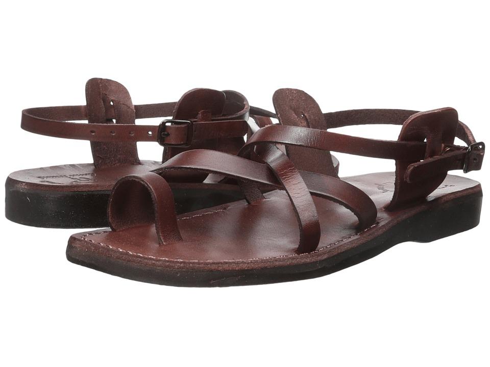 Jerusalem Sandals The Good Shepherd Buckle Mens Brown Mens Shoes