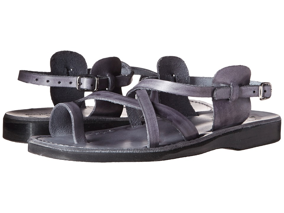 Jerusalem Sandals The Good Shepherd Buckle Mens Gray Mens Shoes