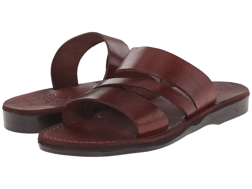 Jerusalem Sandals - Boaz - Mens (Brown) Mens Shoes
