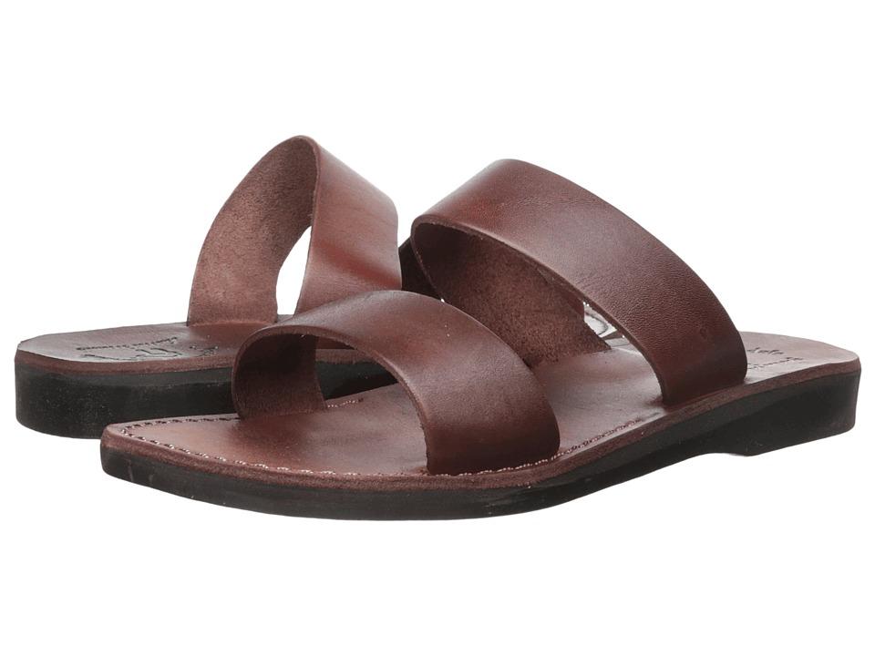 Jerusalem Sandals Aviv Brown Mens Shoes