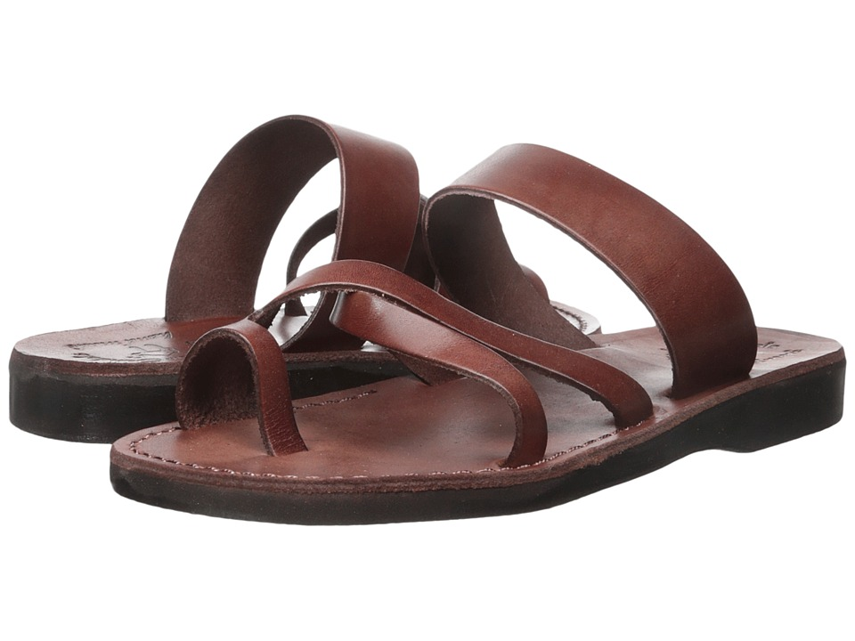 Jerusalem Sandals - The Good Shepherd - Mens (Brown) Mens Shoes