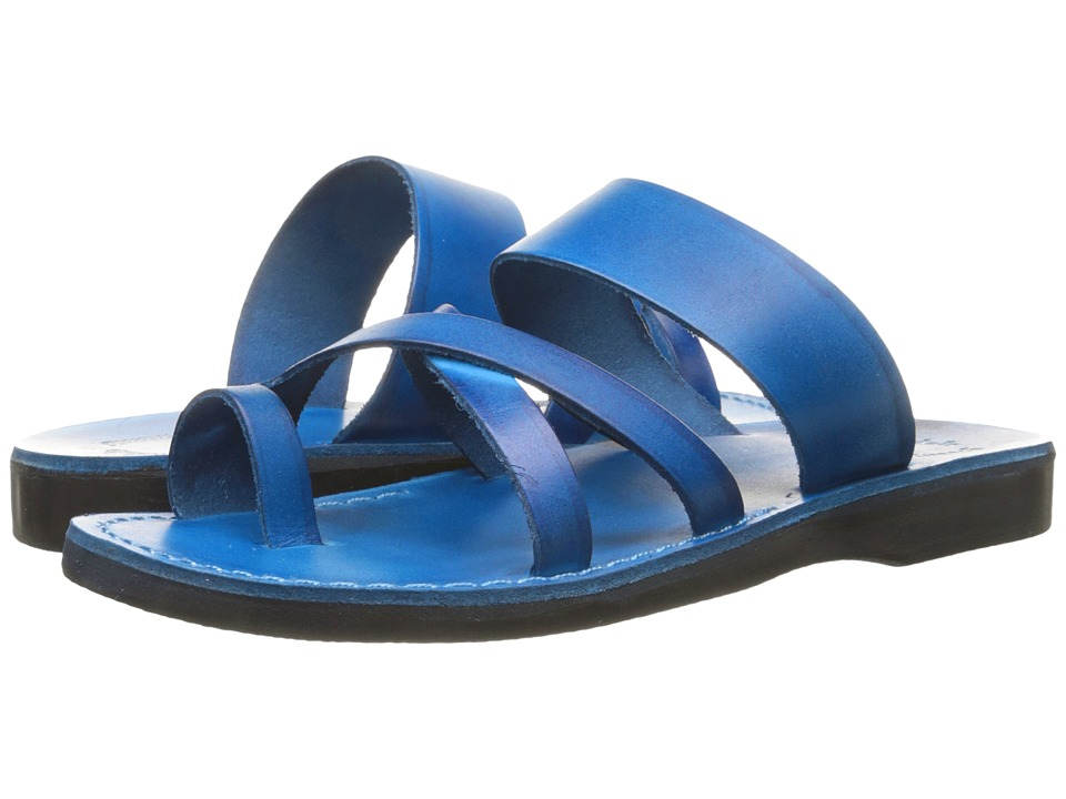 Jerusalem Sandals The Good Shepherd Blue Mens Shoes