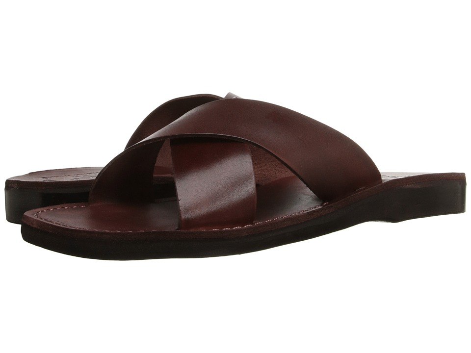 Jerusalem Sandals - Elan - Mens (Brown) Mens Shoes