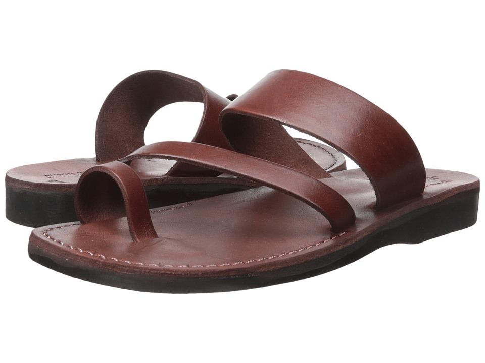 Jerusalem Sandals Zohar Mens Brown Mens Shoes