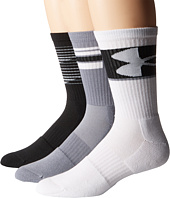 Under Armour - UA Phenom 3-Pack Crew